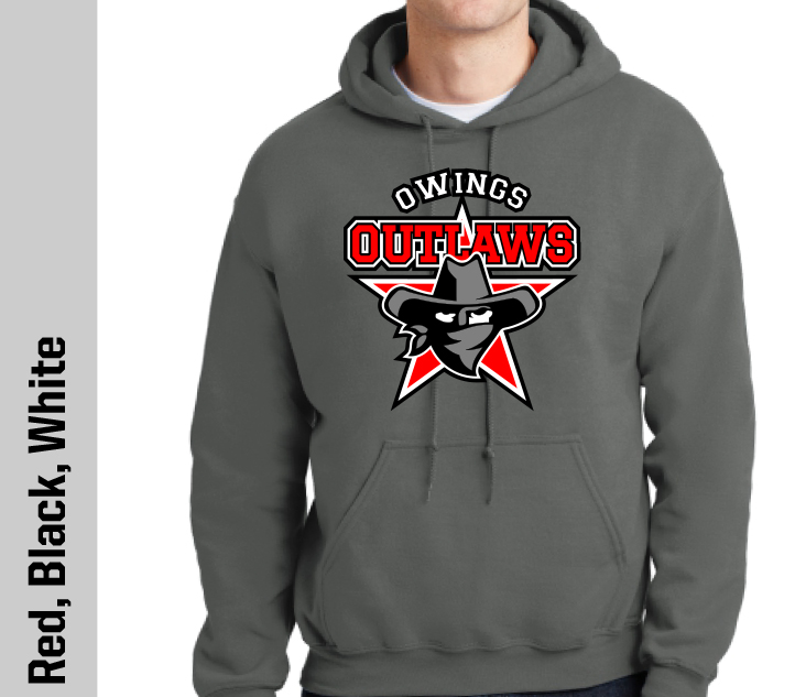 Cotton Hoodie - Owings Outlaws